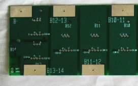 Small cylindrical cell board, multiple