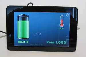 Touch-screen display