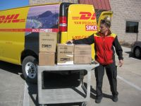 DHL picks up first shipment