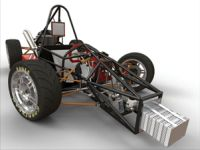 Texas A&M formula hybrid vehicle