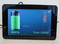 Touchscreen BMS status Display
