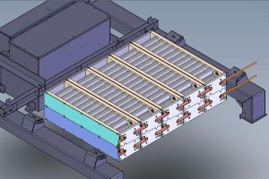 3D design of battery