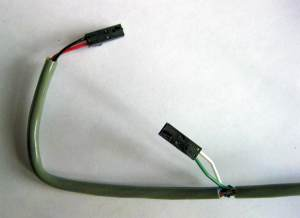 Cell Board harness, connectors on Cell Board end